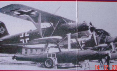 Transport Carriage for Heinkel He 114