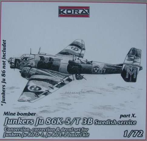 Junkers Ju 86K-5/T 3B Sweden part X.