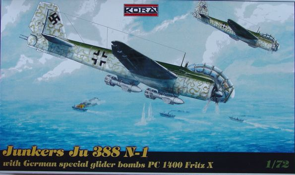 Junkers Ju 388 N-1 with PC 1400 Fritz X