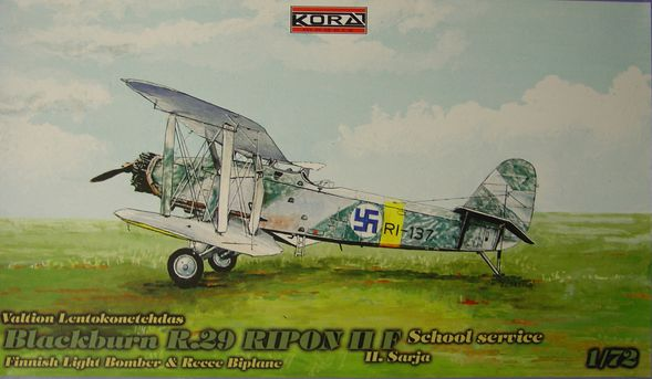 Blackburn R.29 Ripon IIF II.Sarja School service