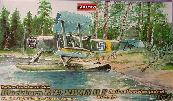 Blackburn R.29 Ripon IIF III.Sarja Anti-submarine patrol