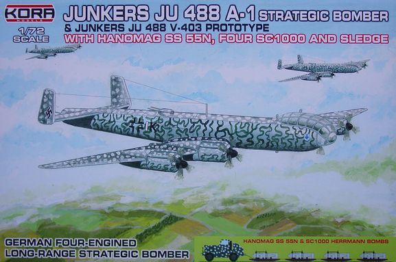 Junkers Ju-488A-1 strategic bomber/Ju-488V-403 prototype