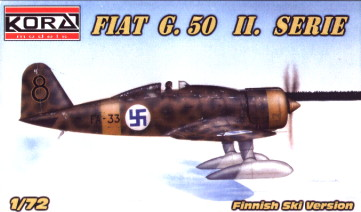 Fiat G.50 II.serie Ski version