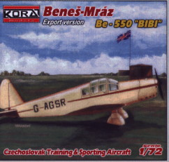 Benes-Mraz Be 550 Bibi export