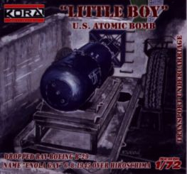 Little Boy US atomic bomb