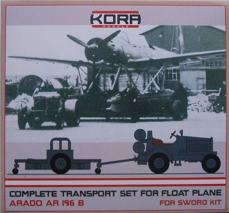 Complete transport set for Ar 196B