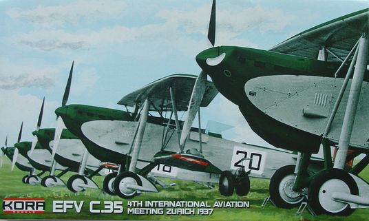 EKW C.35 4.International Aviation Meeting Zurich 1937