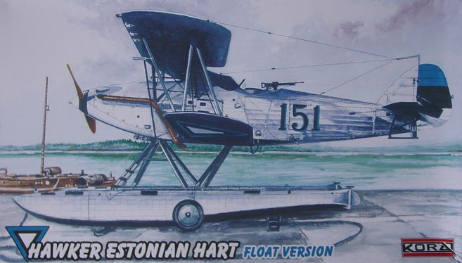 Hawker Estonian Hart Float version
