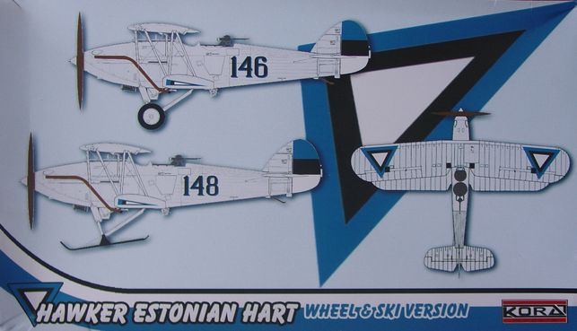 Hawker Estonian Hart wheel&ski version