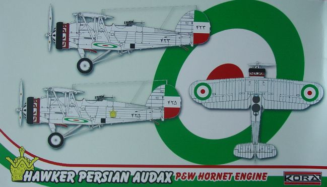 Hawker Persian Audax P&W Hornet engine