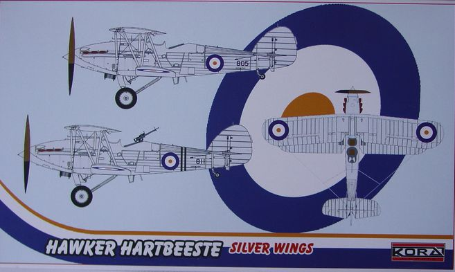 Hawker Hartbeeste-Silver Wings