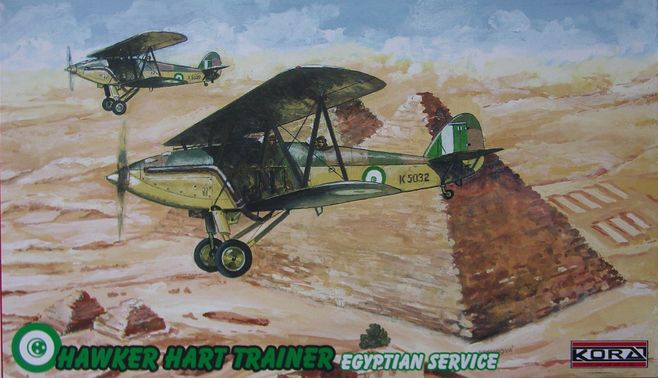 Hawker Hart Trainer-Egyptian service