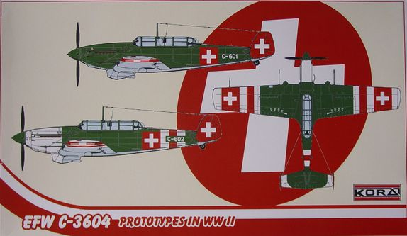 EFW C.3604 Prototypes in WWII