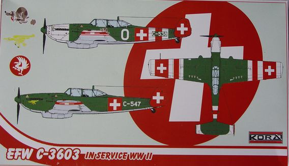 "EFW C.3603 new wing ""Emblems decal"""