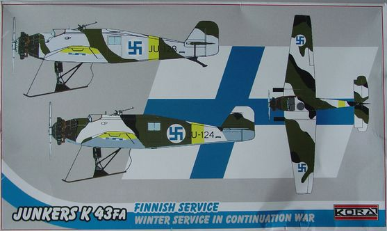 Junkers K43FA Finish service winter war