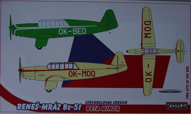 Benes-Mraz Be-51 & Be-51A Sport and Race