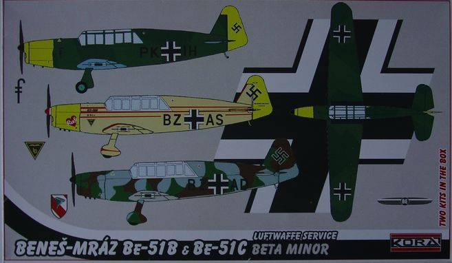 Benes-Mraz Be-51B & C Luftwaffe