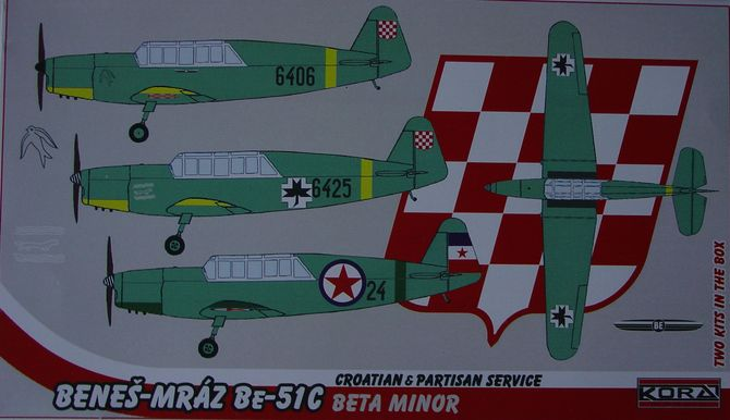 Benes-Mraz Be-51C Croatian & Yugoslav partisan