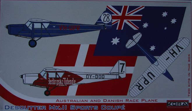 Desoutter Mk.II Sports Coupe-Australian&Danish Race
