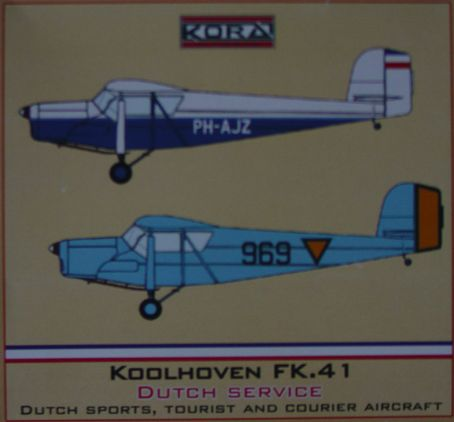 Koolhoven FK.41 Dutch civil & LVA What if