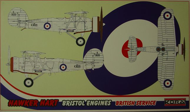 Hawker Hart - Bristol engine