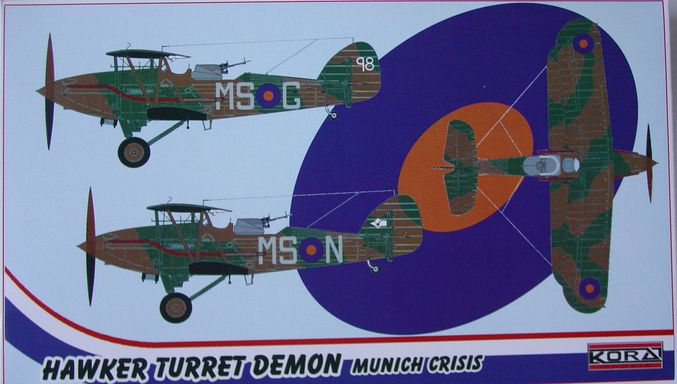 "Hawker Turret Demon RAF - ""Munich crisis"""