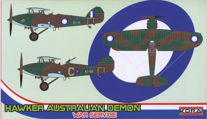 Hawker Australian Demon War Service