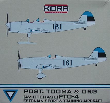 Post, Tooma & Org PTO-4 Estonian