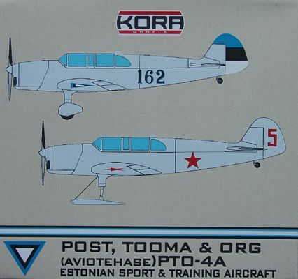 Post, Tooma & Org PTO-4A Estonian & Soviet