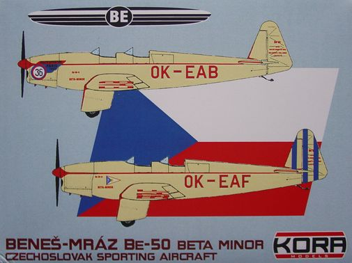 Benes-Mraz Be.50 Beta Minor Czech.sport.plane