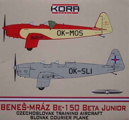 Benes-Mraz Be.150 Beta Junior - Czech & Slovak