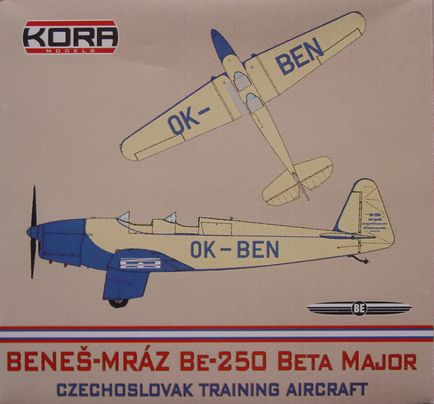 Benes-Mraz Be.250 Beta Major - Czech.sport.plane