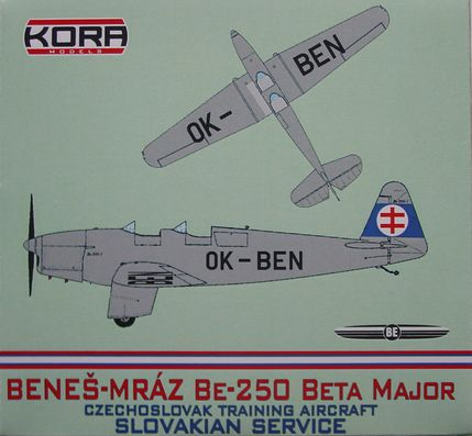 Benes-Mraz Be.250 Beta Major - Slovakian service