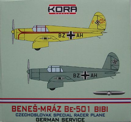 Benes-Mraz Be.501 Bibi - German service