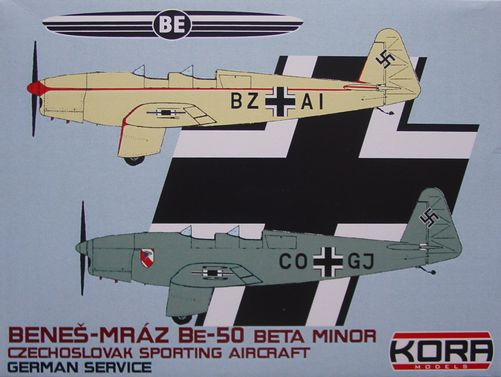 Benes-Mraz Be.50 Beta Minor - German service