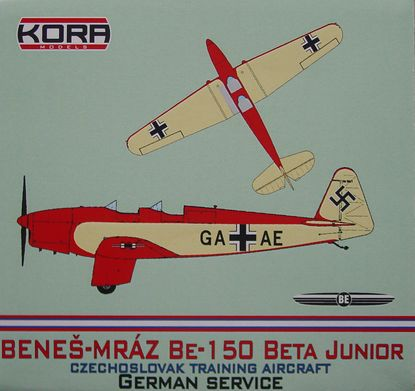 Benes-Mraz Be.150 Beta Junior - German service