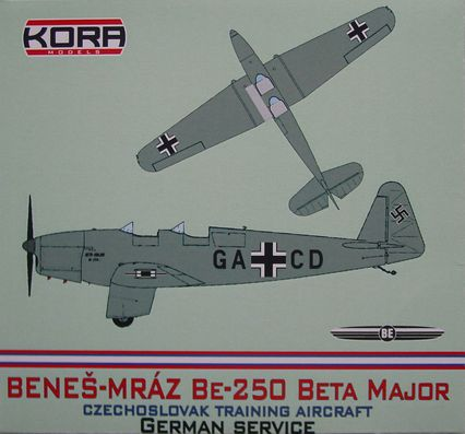 Benes-Mraz Be.250 Beta Major - German service