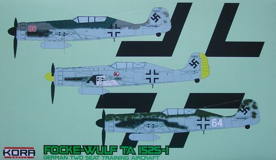 Focke - Wulf Ta-152S-1 German training aircraft