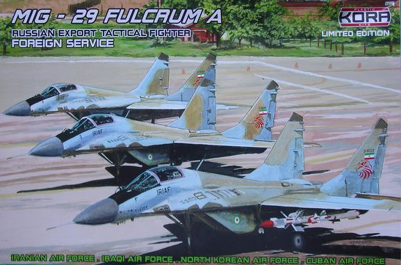 MiG-29 Fulcrum A - Foreign service