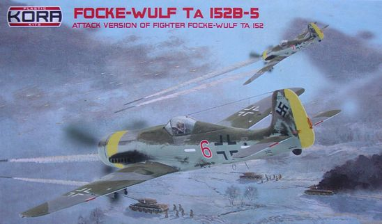 Focke-Wulf Ta-152B-5 Attack version