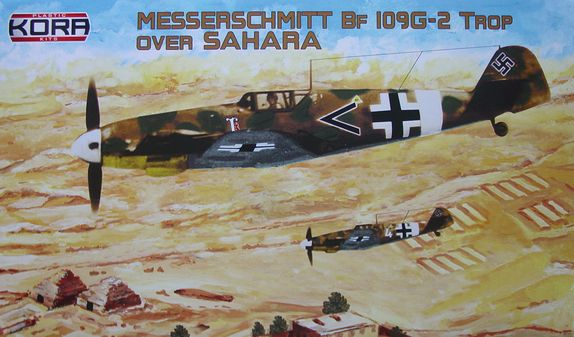 "Messerschmitt Bf-109G-2/Trop ""Over Sahara"""