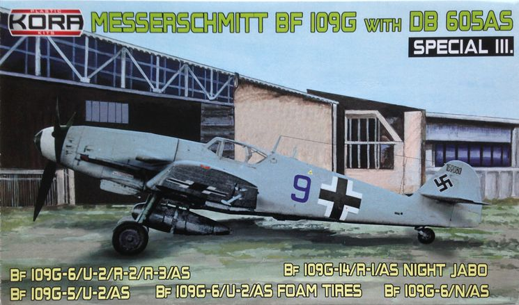 Messerschmitt Bf 109G with DB605AS