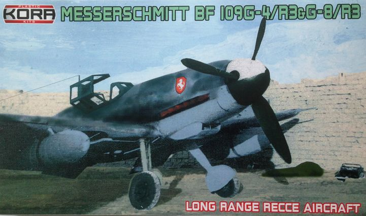 "Messerschmitt Bf-109G-4/R-3&G-6/R-3 ""Long range recce"" - Click Image to Close"