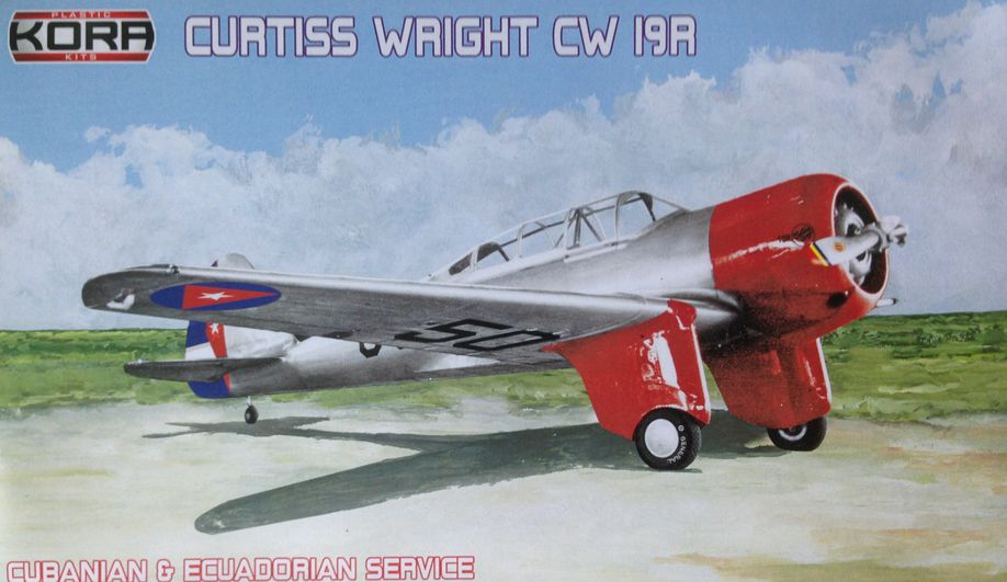 Curtiss Wright CW-19R Cuba & Ecuador