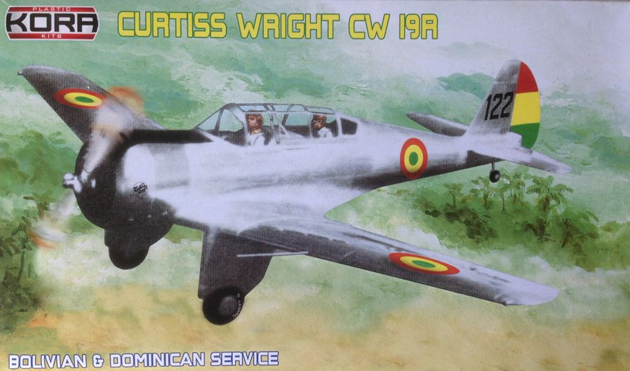 Curtiss Wright CW-19R Bolivian & Dominican service
