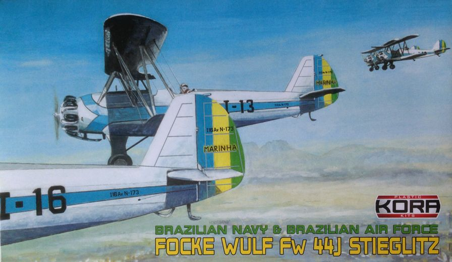Focke Wulf Fw 44J Brazilian Navy & Air Force