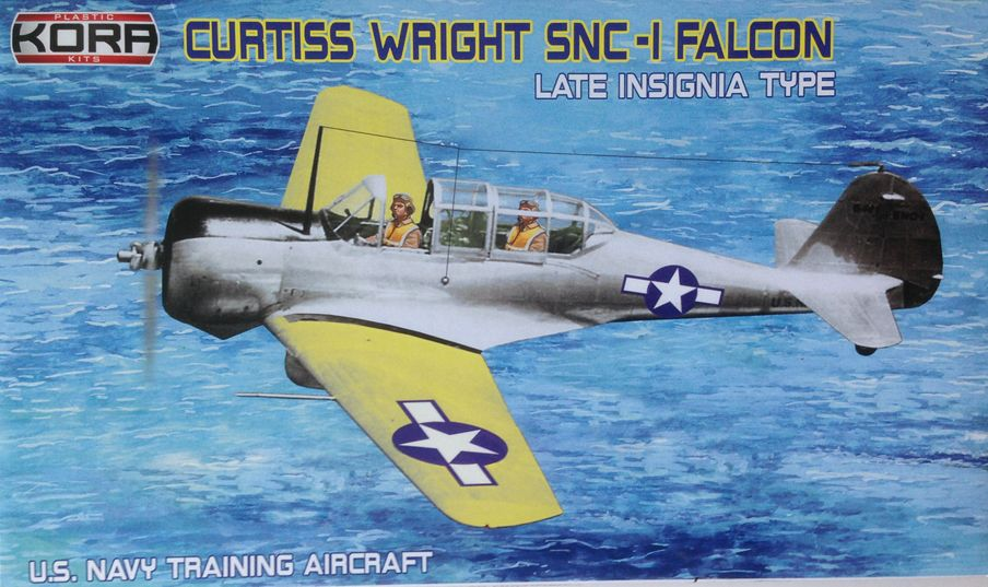 Curtiss Wright SNC-1 Falcon late insignia type
