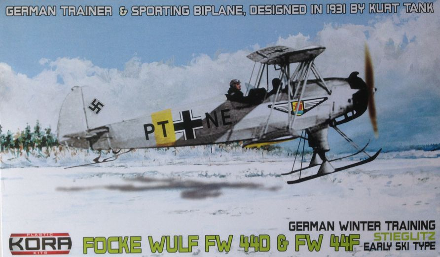 Focke Wulf Fw 44D &Fw 44F German winter trainer early