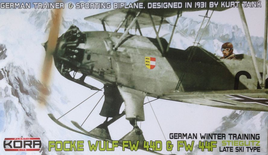 Focke Wulf Fw 44D &Fw 44F German winter trainer late