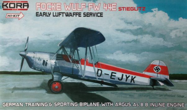 Focke Wulf Fw 44E Early Luftwaffe service